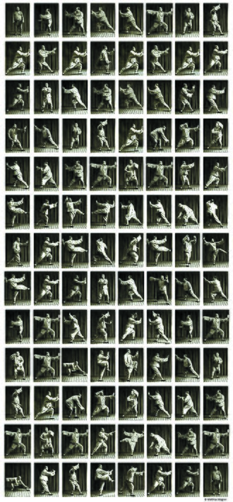 Yang-style t'ai chi ch'uan - 104 pictures showing Yang Chengfu performing the taijiquan form.