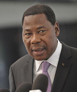 Thomas Boni Yayi Beninese banker and politician