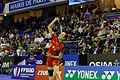 Yonex IFB 2013 - Quarterfinal - Tian Qing - Zhao Yunlei vs Misaki Matsutomo - Ayaka Takahashi 06.jpg