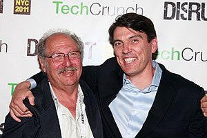 Tim Armstrong (executive) - Armstrong with TechCrunch's Yossi Vardi in May 2011