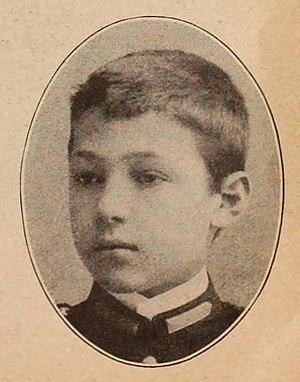 Rudolph Valentino - Valentino as a boy