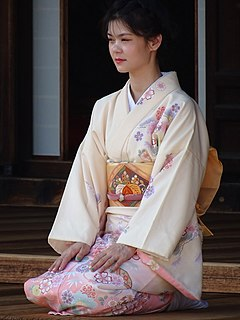 <i>Kimono</i> Japanese traditional garment