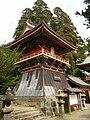 Yowara Shrine Bell Tower 2009.JPG
