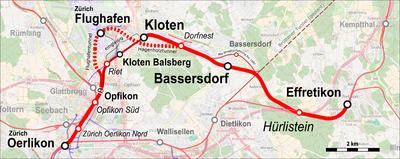 Bahnstrecke Zürichwinterthur Wikipedia