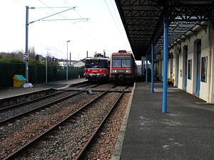 Coulommiers Station - Platforms