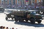 ZIL 131 truck and ZU-23-2 anti-aircraft twin-barreled autocannon, Tiraspol 2015.JPG