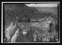 Zilve (Zelve) Valley from cliffs, Cappadocia, Turkey LOC matpc.12161.jpg