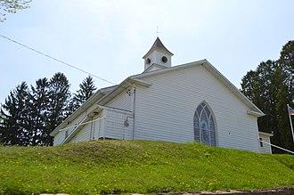 North Mahoning Township, Indiana County, Pennsylvania - Zion Lutheran Church at Trade City