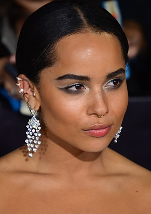 Zoë Kravitz - Kravitz at the premiere of Divergent in 2014