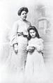 Zoe und Mama Rosa Wassilko von Serecki 1903.png