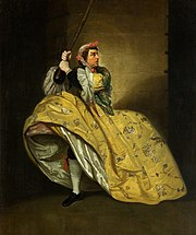 The role of  Sir John Brute in The Provoked Wife became one of David Garrick's most famous roles.
