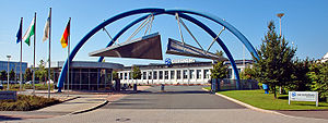 HQM Sachsenring GmbH - Entrance to Sachsenring AG buildings