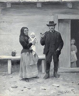 Walddeutsche - Image: Zygmunt Ajdukiewicz Frachten der Głuchoniemcy in Die osterreichisch ungarische Monarchie in Wort und Bild Galizien Wien 1898 S. 281