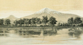 """Ararat from the lake at Edgmiatsin"" Lynch.png"