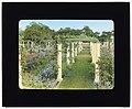 """Ballyshear,"" Charles Blair MacDonald house, Shinnecock Hills, Southampton, New York. Flower garden pergola LCCN2008675747.jpg"
