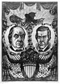 """""""Principles, not men."""" The Democratic candidates for President and Vice President from 1849 to 1853 - Durang, pt. ; Baldwin & Baker, scs. LCCN2003689288.jpg"""