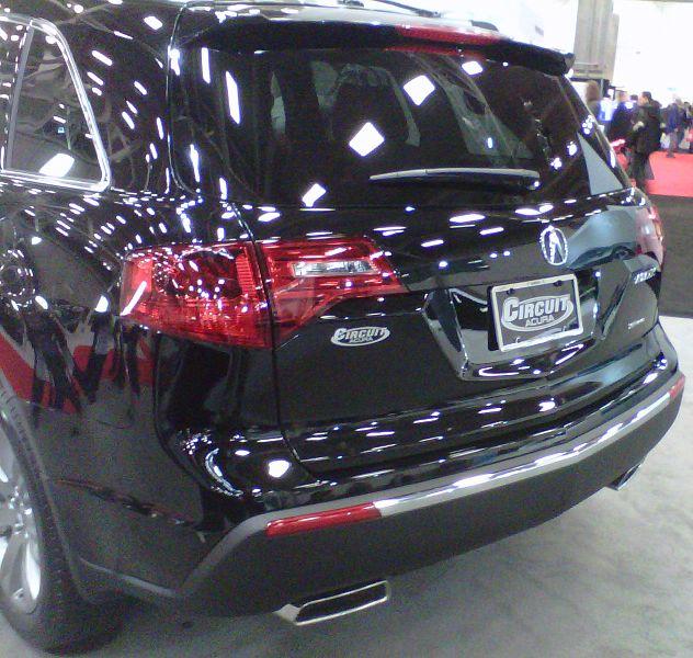 File:'13 Acura MDX -- Rear (SDLDQ '13).jpg