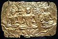 'Buddhist Triad', Thailand, 7th century, gold repoussé, Norton Simon Museum.JPG