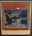 'Corvi noctis' tapestry, designed by Walter Leistikow, maker unknown, c. 1898, wool on linen warp - Bröhan Museum, Berlin - DSC04041.JPG