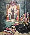 'El Santo' by Marsden Hartley, 1919, New Mexico Museum of Art.JPG