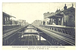 (King1893NYC) pg988 THIRD-AVENUE ELEVATED RAILROAD, LOOKING NORTH FROM 9TH-STREET STATION.jpg