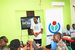 *Ilorin Wikimedia *Wikidata's 6th Birthday CelebrationE4.jpg