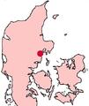 Århus Denmark location map.png