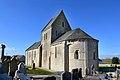 Église Saint-Martin d'Osmanville. Vue sud-est.jpg
