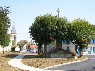croix hosannière d'Épiais-lès-Louvres