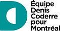 Équipe Denis Coderre pour Montréal logo.jpg