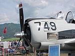 Österreich, Zeltweg (Flughafen Hinterstoisser), North American T-28C,.JPG
