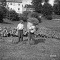 Če je blizu doma otava, jo kar v košu znosijo domov, Vojsko 1959.jpg