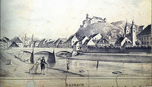 St. James's Bridge - St. James's Bridge in 1836