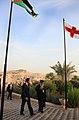 """Περιοδεία ΥΠΕΞ, κ. Δ. Δρούτσα, στη Μέση Ανατολή - Ιορδανία 17.10.2010 Επίσκεψη στον """"Τόπο του Βαπτίσματος"""" στον ποταμό Ιορδάνη (5092707024).jpg"""