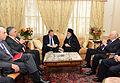 Συνάντηση Αντιπροέδρου της Κυβέρνησης και ΥΠΕΞ Ευ. Βενιζέλου και Αρχιεπισκόπου Αμερικής Δημητρίου (9947135504).jpg