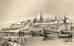 History of Kazan - Kazan as it appeared before the turn of the 20th Century.