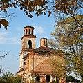 В обрамлении осенней листвы, Смоленская церковь.jpg