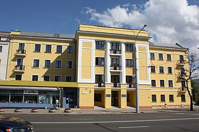 How to get to Институт бизнеса и менеджмента технологий БГУ with public transit - About the place