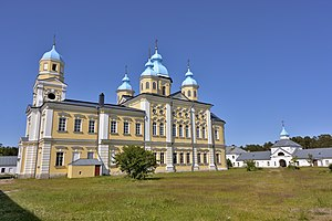 Konevsky Monastery - The main church is dedicated to the Nativity of the Theotokos