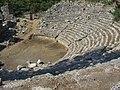 Оденон IV век до н.э. Фаселис. Турция. Июль 2012 - panoramio.jpg