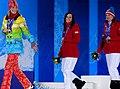 Призеры в супергиганте среди женщин Сочи 2014.jpg