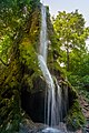 Скала з гротом та водоспадом, село Маліївці.jpg
