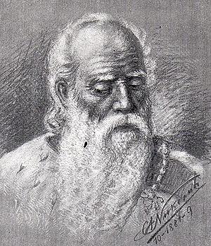 Vratko Nemanjić - Elder Jug Bogdan (1881 painting)