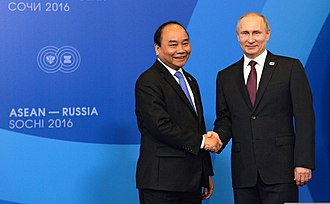 Nguyễn Xuân Phúc - Nguyễn Xuân Phúc with Russian President Vladimir Putin in 2016