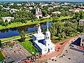 Церковь Александра Невского, вид с Колокольни Софийского Собора.JPG