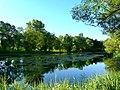 Четвертый пруд в Петропавловском парке напротив церкви - panoramio.jpg