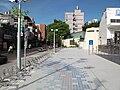 台北捷運橘線三民高中站2號出口腳踏車停車處.JPG