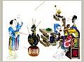 清人喻兰绘制的《仕女清娱图册》中正在投壶的仕女.jpg