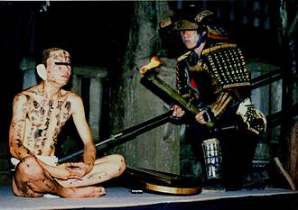 "Conan the Barbarian (1982 film) - The idea of painting symbols onto Conan's body to help ward off spirits is taken from a Japanese story, ""Hoichi the Earless"" (theatrical enactment pictured)."