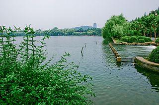 Xihu District, Hangzhou District in Zhejiang, Peoples Republic of China